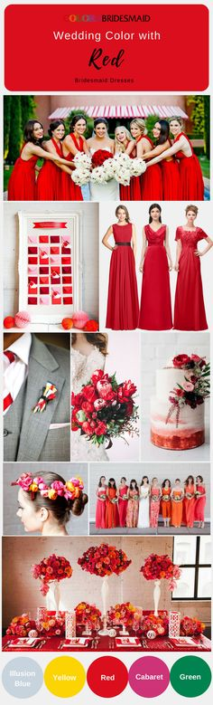 If you are looking for a bridesmaid dress in a summer or fall wedding,these chiffon long bridesmaid dresses in red will provide you a wide range of selection. They are custom-made to all styles and sizes. They are sold under $100. How cheap bridesmaid dresses are!
