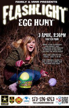 Flashlight Teen Age Easter Egg Hunt 101