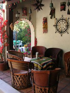 Mexican Decor Style Home Kitchens Spanish House Homes