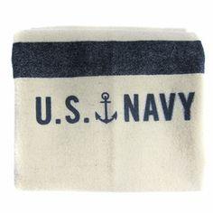 Faribault Woolen Mills U.S. Navy Blanket