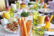 Menú de primera comunión. Si celebras en casa la primera comunión, CharHadas os da un montón de ideas para que puedas poner en tus platos. ¡Descúbrelas! #comunion #menucomunion #primeracomunion