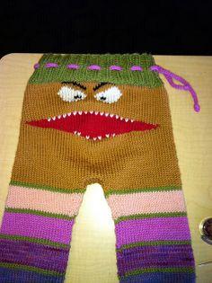 Ravelry: KathyinSanJoses Monster pants