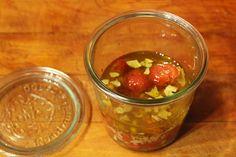 Marinovaná cherry rajčátka | Rychlé a skvělé - Powered by @ultimaterecipe