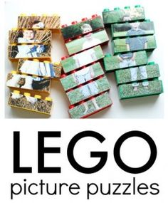Activity of the Week: Lego Picture Puzzles-pinned by @PediaStaff – Please Visit ht.ly/63sNtfor all our pediatric therapy pins
