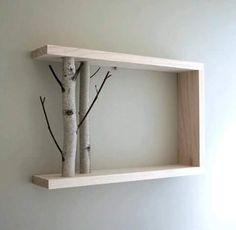 Increíbles las cosas que se pueden hacer con las ramas de los árboles.