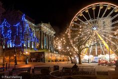 Preston Christmas Lights, Lancashire