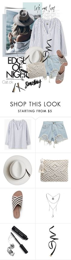 """""""Lost"""" by ts-alex ❤ liked on Polyvore featuring MANGO, Chicnova Fashion, Calypso Private Label, Lands' End, Garance Doré, Bobbi Brown Cosmetics and H&M"""
