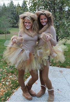 Löwenkostüm zum Selbermachen: Karnevalskostüme 2015 - Karnevalskostüme selber machen: Kostümideen für Karneval 2016 - Warum immer nur schwarze Katzen oder Leoparden? 2015 kommen Löwen groß raus! Du brauchst: - einen halben Meter Fake-Pelz (gibts im Bastelladen) - einen Haarreif - doppelseitiges...