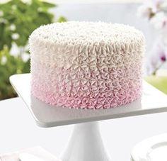 Sweetly Pink Star Cake