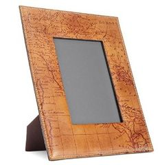 Patricia Nash Amalia 5 x 7 Leather Riot Rust Map Print Frame-For the Patricia Nash Lovers-Storewide discounts and free shipping!