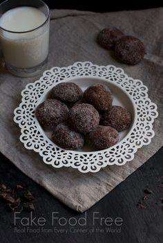 Dark chocolate cookies #glutenfree #grainfree