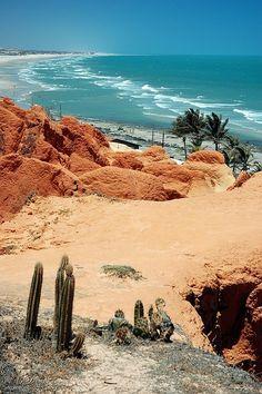 Morro Branco beach, Ceara, Brazil