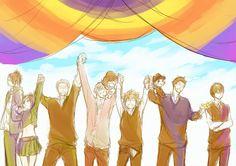 〔가히리〕가히리 완결 기념 일러스트 모음* : 네이버 블로그