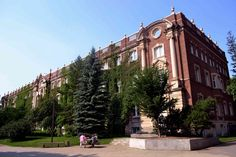 The Old Arts Building at the University of Alberta in Edmonton, Alberta, Canada. One of the most historic buildings on campus and home to Convocation Hall.