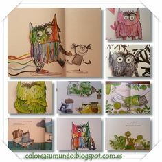 El monstruo de colores Superpower, Kindergarten, Monsters, Feelings, Childhood Education, Feelings And Emotions, Simple Stories, Colour Book, Special Education
