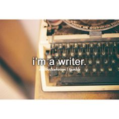 At least I'd like to think I am! I love writing poems. Infp, A Writer's Life, Way Of Life, Just Me, Just In Case, I Am A Writer, Justgirlythings, Totally Me, Reasons To Smile