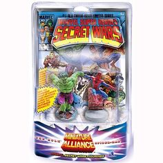 "2 Piece Commemorative PVC Figurines Set - Secret Wars Spider-man & Hulk by Monogram International. Save 19 Off!. $20.17. Packaged in blister card packaging featuring Secret Wars Comic Book background. Great 2 Piece Collectible Set. Colorful sculpts. 2 Distinct Characters - Spider-man & Hulk. In Action poses and highly detailed. From the Manufacturer                ""Can the combined forces of earth's most powerful super heroes defeat the ultimate menace??"" Monogram International features as…"