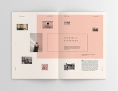 brochure layout png great sophie calle hacedores de mundo on behance design of brochure layout png Design Brochure, Brochure Layout, Graphic Design Layouts, Book Design Layout, Print Layout, Graphic Design Inspiration, Brochure Ideas, Design Ideas, Mode Portfolio Layout