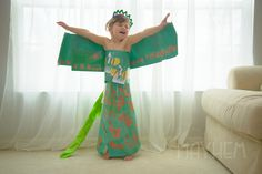 Fashion By Mayhem Blog - this little girl is incredible! She and her mother make famous and original dresses and costumes totally out of paper.