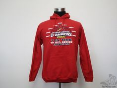CSA St Louis Cardinals Hoody Sweatshirt sz M Medium Baseball 2006 World Series #CSA #StLouisCardinals #tcpkickz