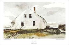 A full catalog of Andrew Wyeth prints and reproductions available at Chadds Ford Gallery Andrew Wyeth Prints, Andrew Wyeth Paintings, Andrew Wyeth Art, Jamie Wyeth, Nc Wyeth, Beaux Arts Paris, Chadds Ford, Watercolor Landscape, Landscape Paintings