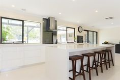 Renovation Builder Smith & Sons Reno of the Week - A Dream Kitchen in Narre Warren