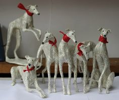 adorable hounds from lorraine corrigan - genius!