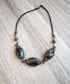 Check out this item in my Etsy shop https://www.etsy.com/listing/569657631/necklace-nostalgia-from-agate-and