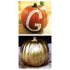 G for Gorecki :) Pumpkin Decorating Ideas