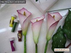 много мастер класове за цветя
