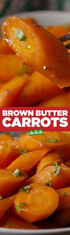 Brown Butter Carrots  - Delish.com