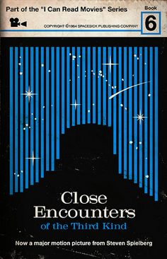 Retro Book Covers - Close Encounters of the Third Kind.