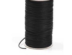 Wholesale - Cotton Thong Cord, 100 Metres, Bootlace Cord, Black,  £15.00