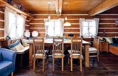 Fotogalerie: Na peci se skvěle lenoší. Lodges, Farmhouse, Cottage, Cabin, Interior Design, Country, Inspiration, Furniture, Home Decor
