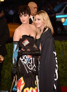 Madonna and Kay Perry at the Met Benefit Gala, 2015 Metropolitan Museum of Art, New York City. 4th May, 2015