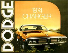 1974 Dodge Charger brochure Mopar, Detroit Cars, Pony Car, Car Advertising, American Muscle Cars, Plymouth, Vintage Cars, Body, Core Exercises