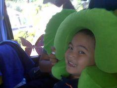 my funny little boy...hahaha