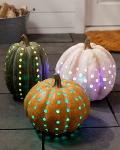 Make your Halloween celebrations more exciting with color changing pumpkins.