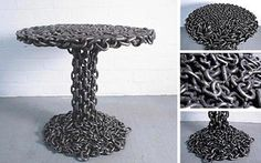 Image detail for -recycling of scrap metal art unique 11 Furniture Design Chain Of Old ...