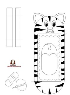 Community helpers crafts for children Kids Crafts, Fall Crafts For Kids, Cat Crafts, Diy For Kids, Animal Hand Puppets, Finger Puppets, Paper Flower Backdrop Wedding, Puppets For Kids, Tiger Crafts