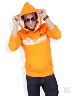 MONTEIL AND MUNERO // Vibrant Hooded Sweatshirt