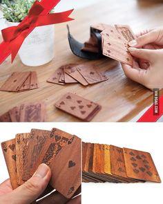 Wooden Poker