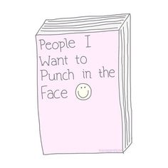 They haven't made a book big enough for my list of people hah