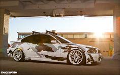 Sick Arctic Camo BMW E46 M3 by Jeremy Cliff