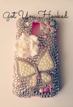 Butterfly Rose Phone Case