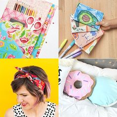 Cute Diys, Craft Kits, Fashion Accessories, Stationery, Super Cute, Diy Crafts, Kawaii, Sewing, Pattern