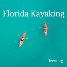 Florida Kayaking http://www.frvta.org/florida-kayaking/?utm_campaign=coschedule&utm_source=pinterest&utm_medium=Florida%20RV%20Trade%20Association%20&utm_content=Florida%20Kayaking Check out our Top 10 favorite Florida State Parks for camping, canoeing and kayaking!