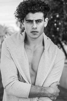 tommy-martinez represented by Wilhelmina International Inc. Long Curly Hair Men, Boys With Curly Hair, Curly Hair Styles, The Perfect Daughter, Chica Cool, Attractive Men, Haircuts For Men, Hair Goals, Short Hair