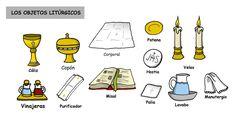 Los objetos litúrgicos
