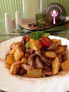 Hungarian Recipes, Meal Prep, Pork, Food And Drink, Meals, Chicken, Greetings Images, Kitchens, Chef Recipes